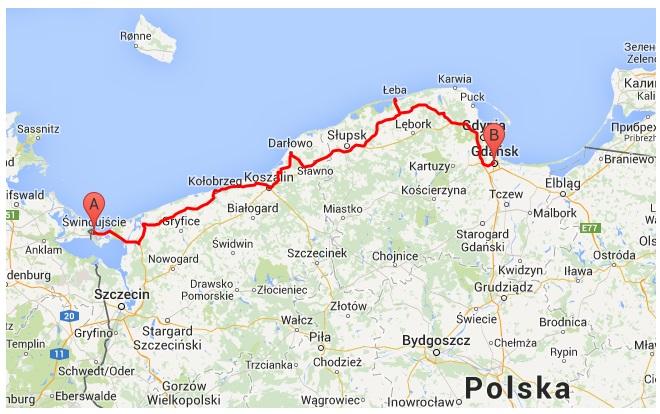 Noclegi24h Pl Uroki Polnocy Samochodem Po Polskim Wybrzezu